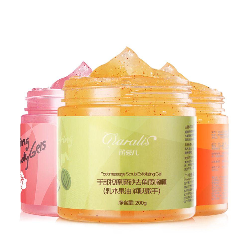 3 teile/los Hand Fuß Körper Peeling Gel Set Gesicht Peeling-Creme Entfernen Tote Haut Bleaching Haut Schälen Gel Anti Falten für Hautpflege