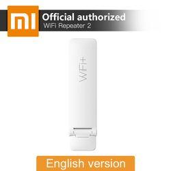 Оригинальный Xiaomi Mi Wi-Fi ретранслятор 2 расширитель 300 Мбит/с усилитель сигнала беспроводной усилитель роутера Универсальный Repitidor