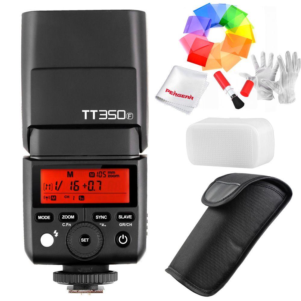 Godox tt350f для Fujifilm Мини Скорость Lite Камера Flash/x1t-f TTL HSS gn36 высокое Скорость 1/8000 s 2.4 г Беспроводной x Системы для Fuji