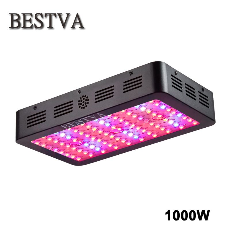 Led grow light 1000W Full Spectrum lamp Panel for Medical Plants Veg Fruit indoor greenhouse plant growing 360-870nm high yield