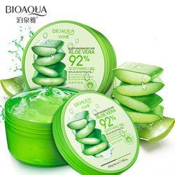 BIOAQUA 220g Naturel aloe vera Lisse Gel Traitement de L'acné Crème Pour Le Visage pour Hydratant Réparation Humide Après Soleil