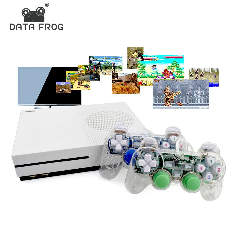 Data Frog HD TV Game Consoles 4GB Video Game Console Support HDMI TV Out Built-In 600 Classic Games For GBA/SNES/SMD/NES