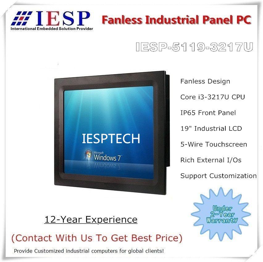 Sonnenlicht lesbar panel PC, 19 zoll LCD, Core i3 CPU, 4GB RAM, 256GB SSD, Für Tschechische Republik Kunden