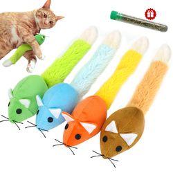 مضحك القط لعبة فأرة التفاعلية القطط دعابة ألعاب ذيل طويل الصفر اللعب لعب تدريب لعبة النعناع البري للقطط هريرة الفئران الفئران المنتج