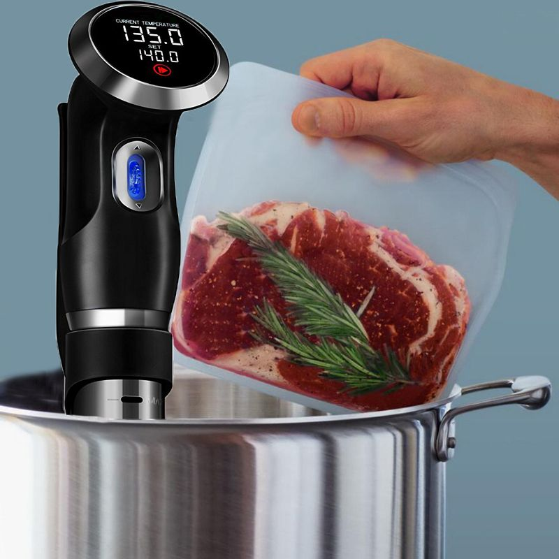 German Original Motor Technology 1500W Vacuum Food Sous Vide Precision Cooker Cooking Machine Sturdy Immersion Circulator