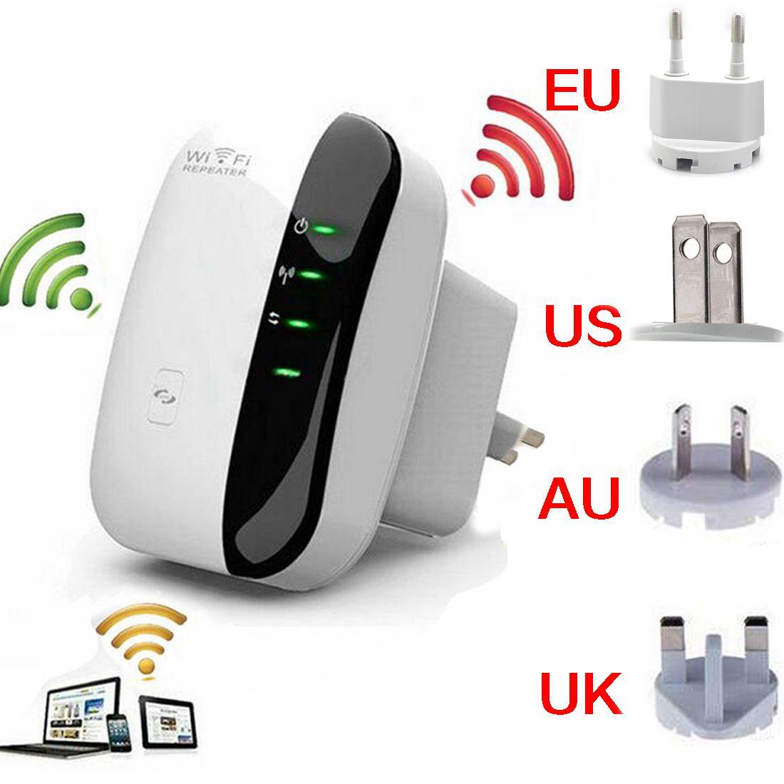 NOYOKERE Sans Fil-N Wifi Répéteur 802.11n/b/g Réseau Wi Fi Routeurs 300 Mbps Expander Signal booster Extender WIFI