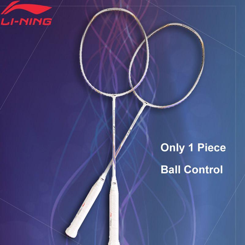 Li-Ning Turbo Lade 10 Professionelle Badminton Schläger Einzigen Schläger Futter Ausrüstung Sport Schläger AYPM326 (AYPM406) ZYF245