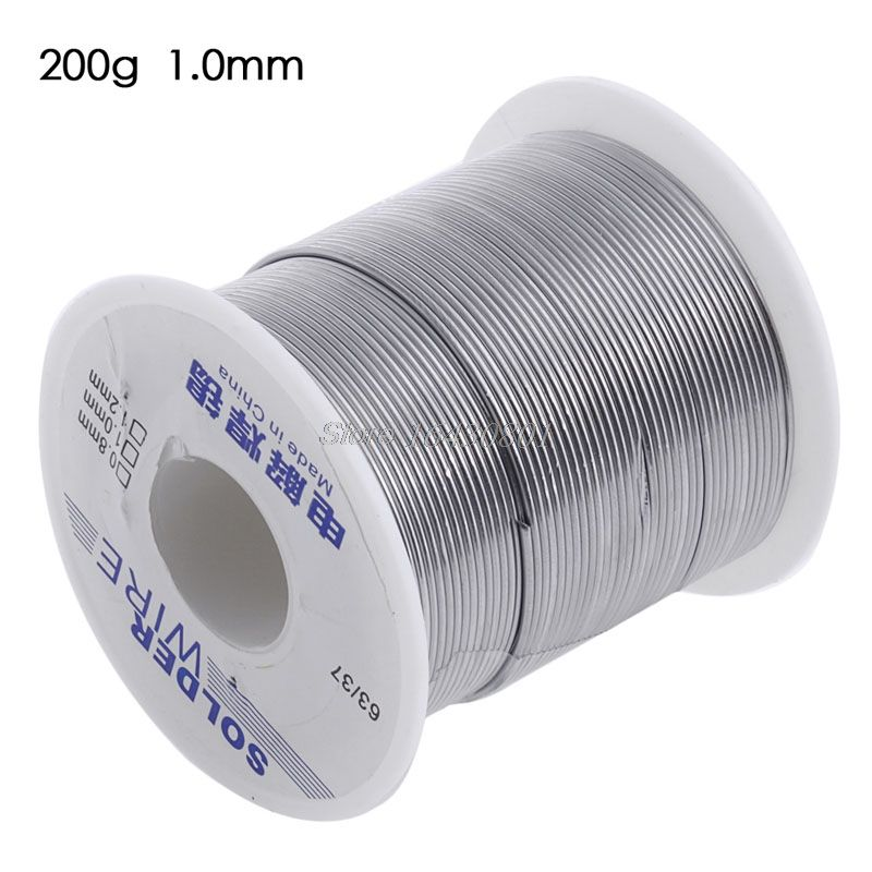 63/37 1.0mm 200g Rosin Core Weldring Tin Lead Industrial Solder Wire New -S108 High Quality