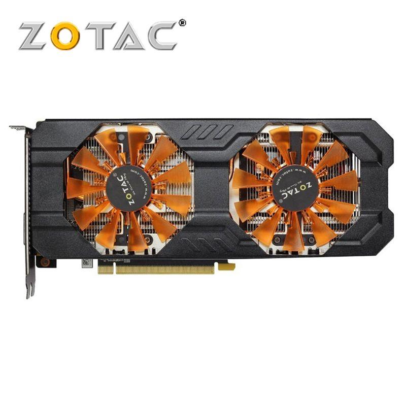 ZOTAC Video Card GeForce GTX 760 2GB 256Bit GDDR5 Graphics Cards for nVIDIA GK104 Original Map GTX760 GTX760-2GD5 Hdmi Dvi