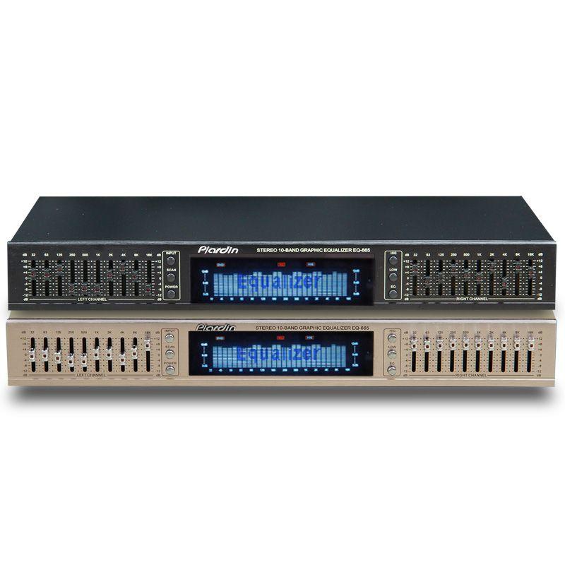 EQ665 Equalizer hifi Fever Home EQ Equalizer Dual 10 BAND Stereo Treble Alto bass adjustment