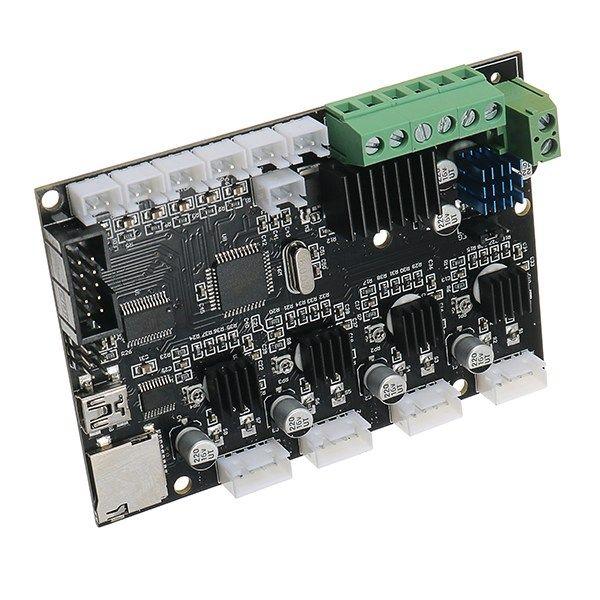Новое поступление 1 шт. cr-10 12 В 3D-принтеры плата Управление Панель с USB Порты и разъёмы и Мощность чип 3D-принтеры Запчасти и Интимные аксессуар...