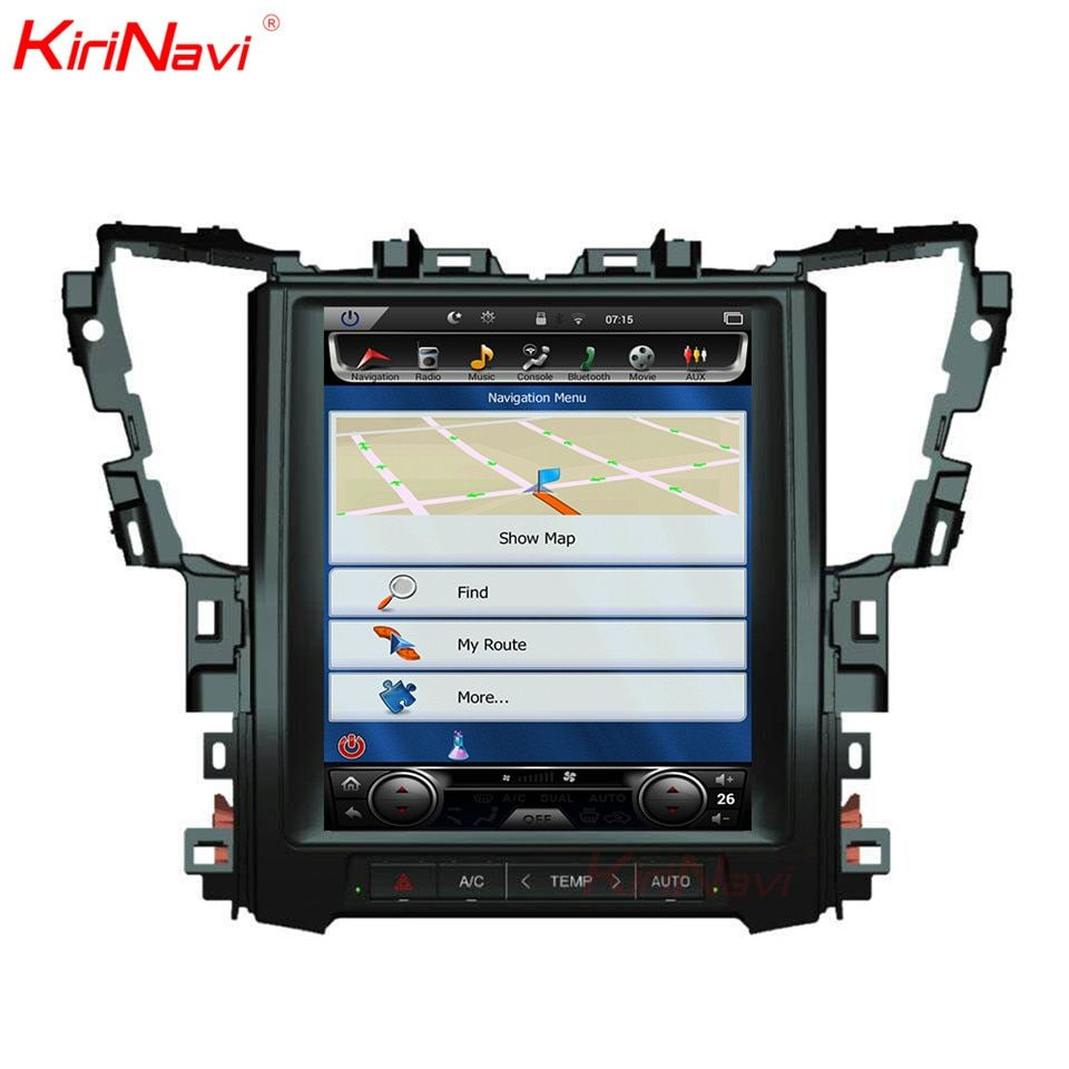 KiriNavi Für Toyota Alphard 12,1 Touchscreen Android 7.1 2 GB RAM 32 GB ROM GPS Navigation Radio Auto Bluetooth video 2015-2018