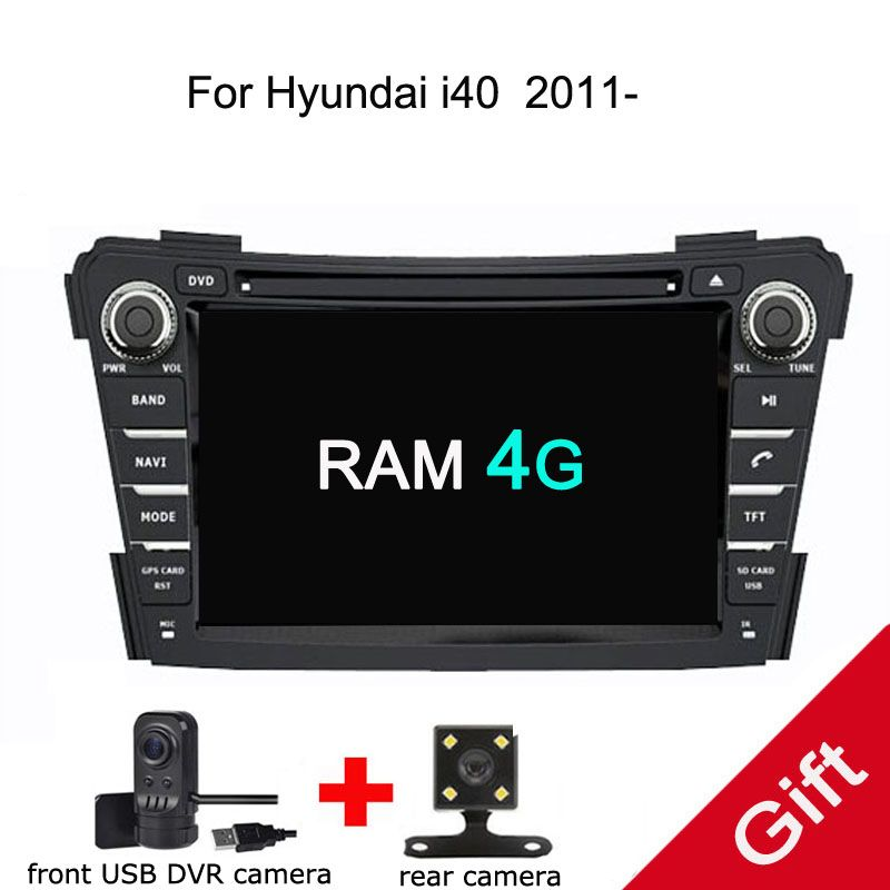 Android 8.0 PX5 Octa Core For HYUNDAI i40 2011-2017 Car DVD Multimedia player GPS Navigation Autoradio dvd player