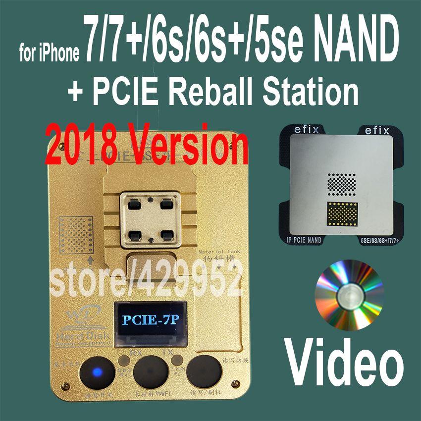 2018 Version PCIE NAND Flash Puce Programmeur Outil Kits Machine Fix Repair HDD IC Numéro de Série pour l'iphone 5SE 6 S 7 Plus iPad Pro