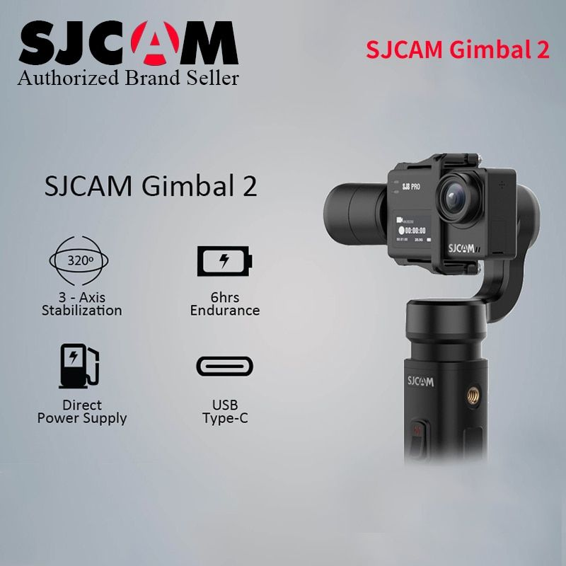 2019 SJCAM SJ8 Pro Plus Air Handheld GIMBAL SJ-Gimbal 2 3 Axis Stabilizer for 7 Star SJ6 Legend wifi 4k Action Camera