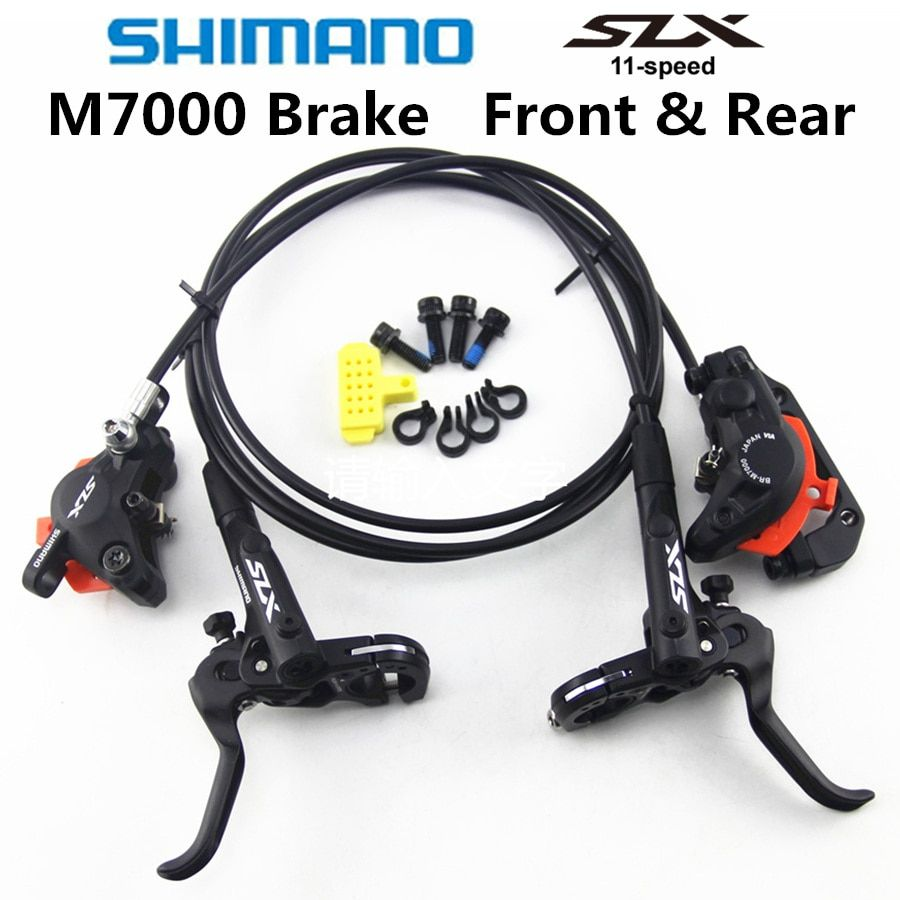 SHIMANO DEORE SLX M7000 Brake Mountain Bikes Hidraulic Disc Brake MTB BR BL-M7000 800/1500 Left & Right