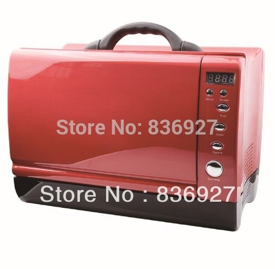 24V/12V Yacht or Car use Red/Black/Blue/White Digital timer control portable microwave oven