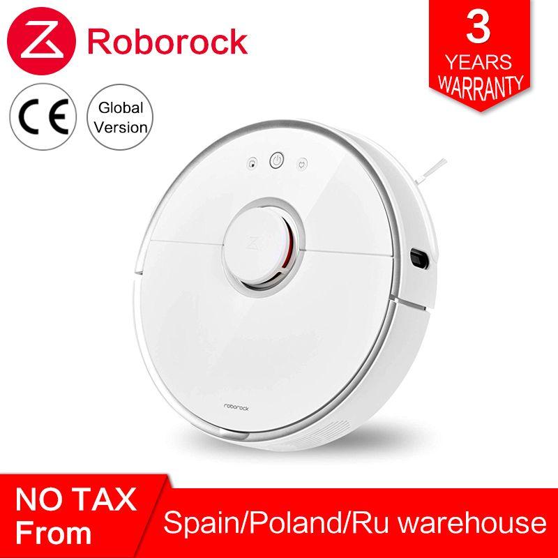Globale Roborock Roboter Staubsauger 2 s50 s55 für Xiao mi mi Hause mi JIA APP Smart Reinigung Nass Wischen robotic Drahtlose Steuerung