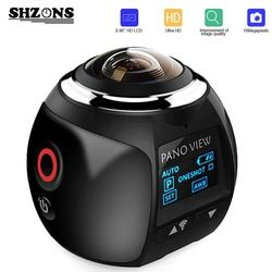 Upgrage V1 360 Action Camera Wifi Mini Panoramic Camera 2448*2448 Ultra HD Panorama Camera 360 Degree Sport Driving VR Camera