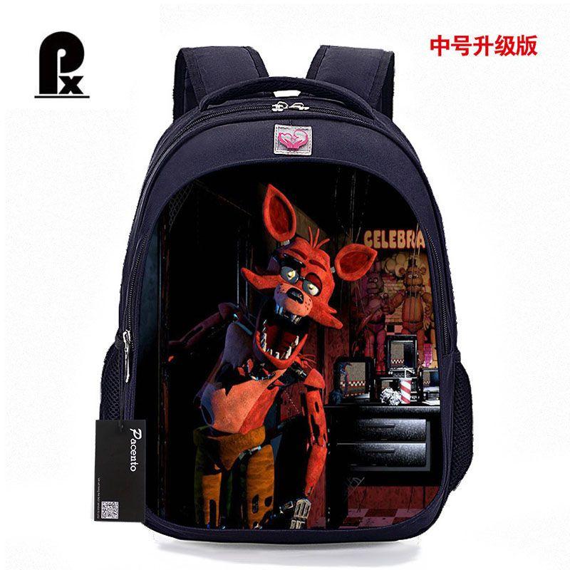 Детская сумка Five nights at Freddys печати Школьные сумки рюкзак Детский мультфильм ранцы для подростков Школьный для детей
