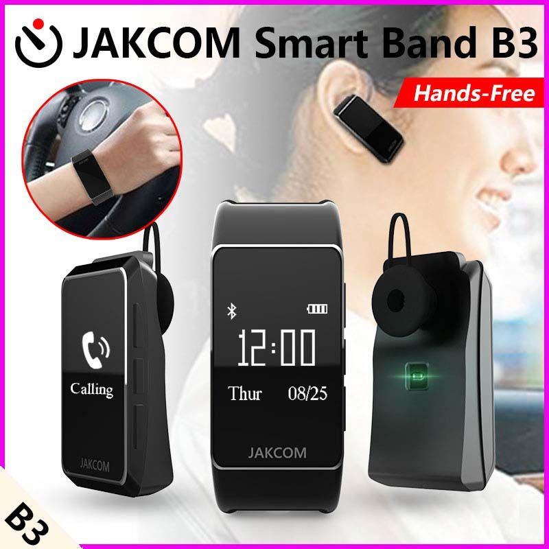 Jakcom B3 moniteur de fréquence cardiaque bande intelligente étanche avec écouteurs bluetooth pour IOS iphone 6 6s 5s 4s Android porter Smartwatch
