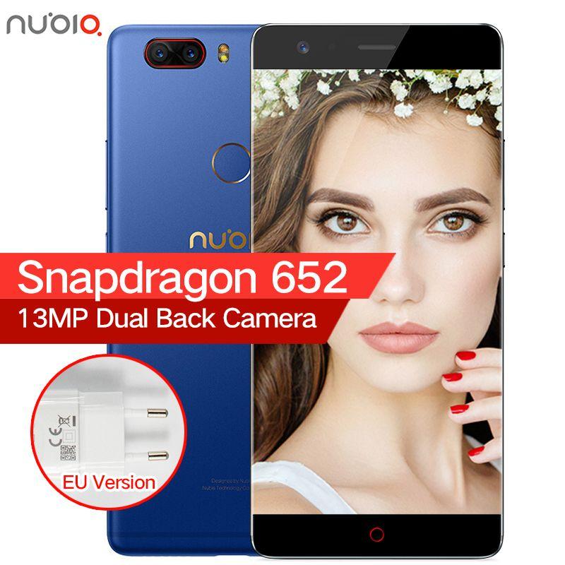 Original ZTE Nubia Z17 Lite Borderless 6GB RAM 64/128GB ROM Mobile Phone Snapdragon 653 Octa Core 5.5