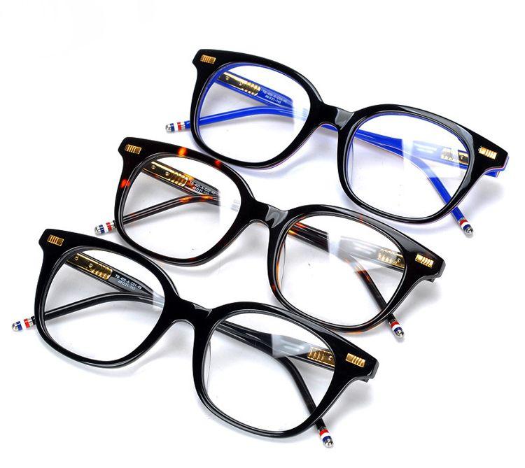 Vintage browne acétate lunettes cadre femmes lunettes de lecture TB405 myopie Prescription optique lentille lunettes d'ordinateur Spectacle