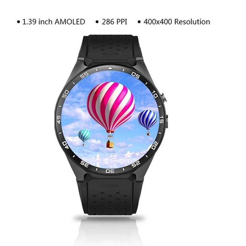 3G WIFI Smart Watch Bluetooth GPS Quad Core Large Memory Step Heart Rate Camera Fashion for IOS iphone Huawei Mobile Phone Watch