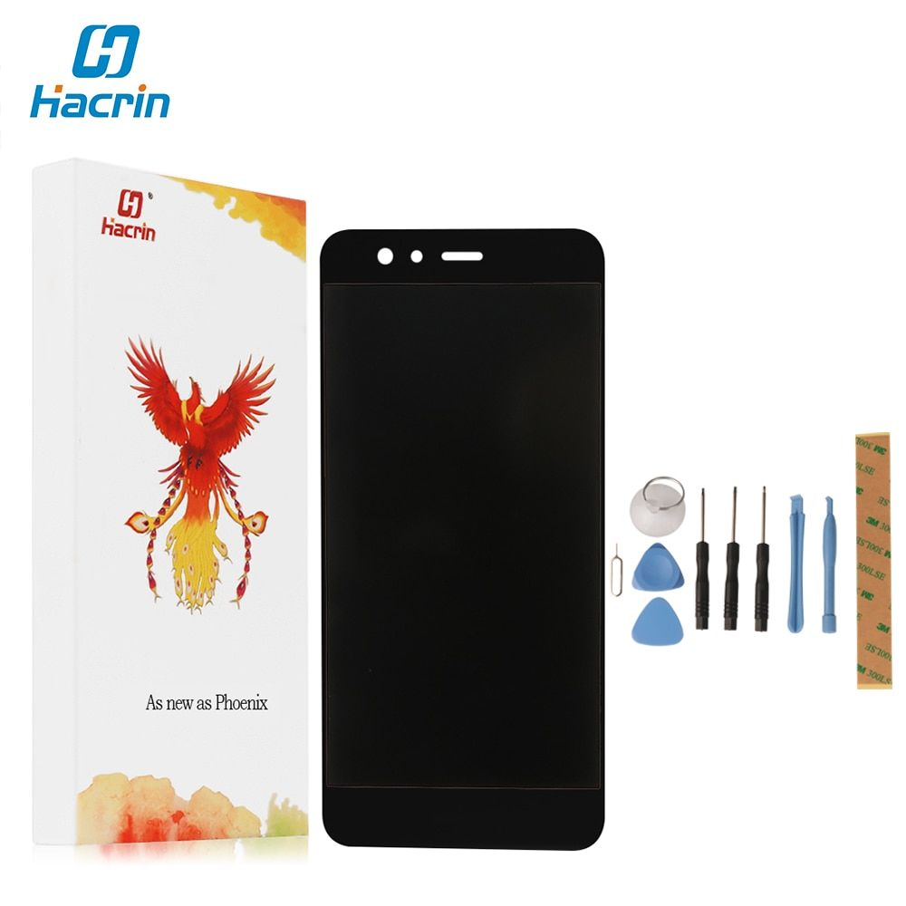 hacrin For Huawei P10 Lite LCD+Touch Screen High Quality 100% New Digitizer Screen Glass Panel Replacement For Huawei P10 Lite