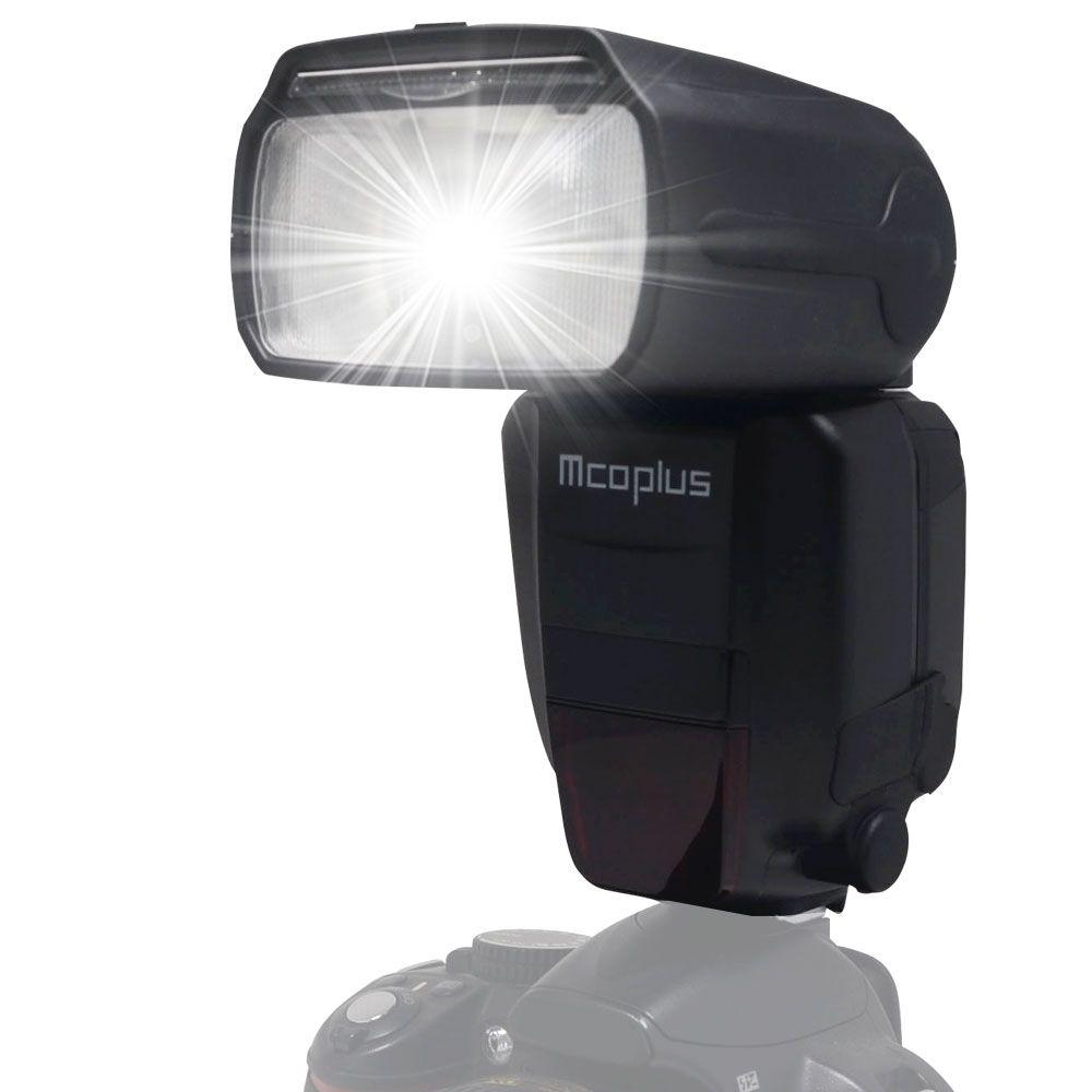 Mcoplus MT-600N GN60 1/8000 s HSS I-TTL Esclave Flash Speedlite pour Nikon SB900 SB910 D750 D800 D3300 D5300 D7100 D7000 DSLR Caméra