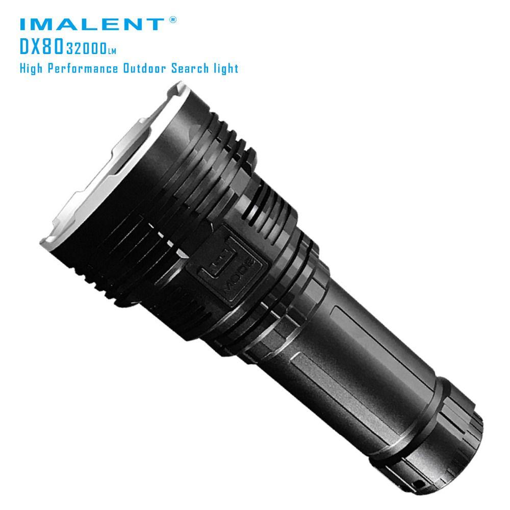 IMALENT DX80 Neueste 8 XHP70 Super Led-taschenlampe 32000 Lumen Eingebaute Mächtigsten Suche Abenteuer Led-blitzlicht Fackel