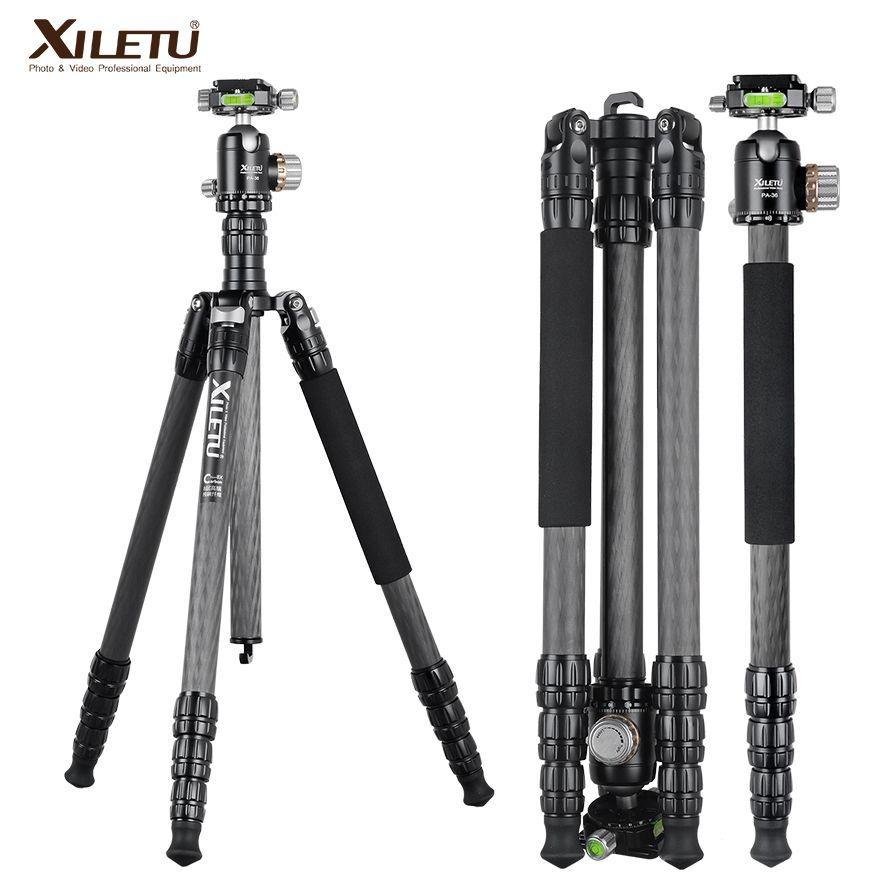 XILETU PA-2C36 berufs carbon arca swiss stativ für kamera und stativ panorama ball kopf UNC 1/4 und 3/8 schraube