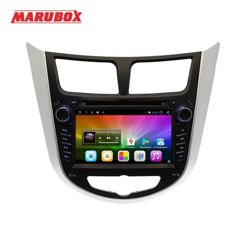 Marubox Head Unit For HYUNDAI Solaris 2012-2016 Verna 2 Din Car Radio Android 7.1.2 GPS Navigation Multimedia Player 7A300DT8