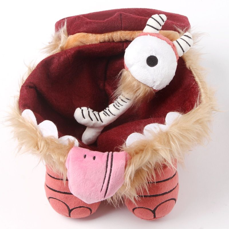 Don't Starve Chester Plush doll Do Not Starve Brown Cattle Cow Spider Replica Stuffed Toy GREAT QUALITY Christmas Gift