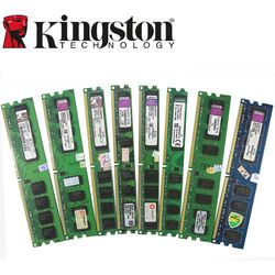 Kingston PC de escritorio Memoria RAM Memoria módulo DDR2 800 667 MHz PC2 6400 1 GB 2 GB 4 GB 8 GB 16 GB DDR3 1333 1600 MHz PC3-12800 10600