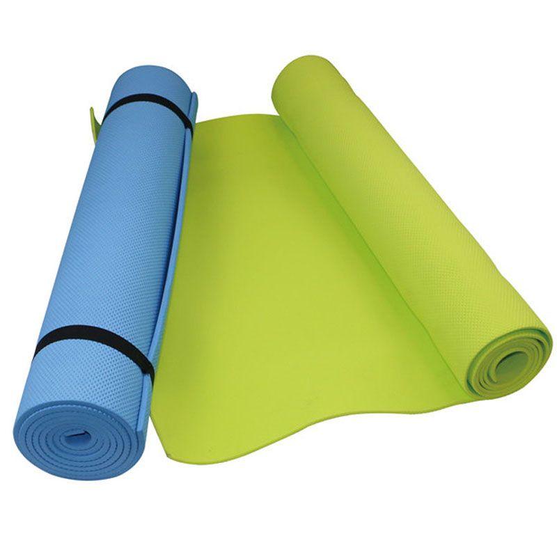 6mm Yoga Matte EVA Schaum Nicht-slip Gym Sport Fitness Pilates Übung Pad Umweltfreundliche Feuchtigkeitsbeständig Schlafen Matratze Ausbildung matte