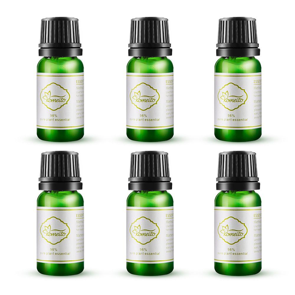 Easehold 10 мл 98% чистый и натуральный Эфирные масла Премиум Аромат масла аромат масла для снятия стресса увлажнитель масло с 6 виды