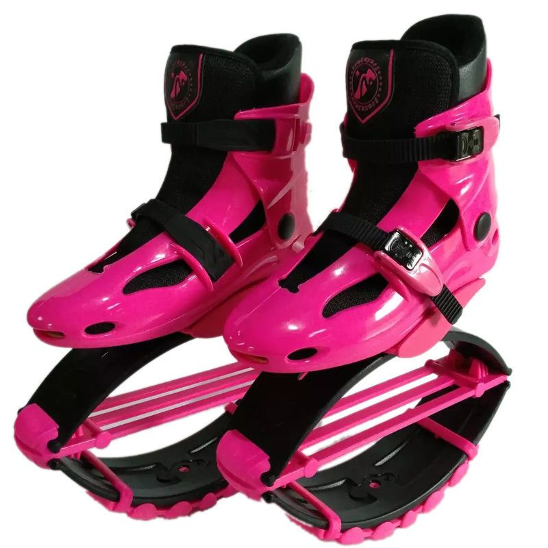 Teens or Adults Kangaroo Bounce Jump Shoes recomand weight 20KG-110KG(44lbs-243lbs) Weight Loss Safe Exercise