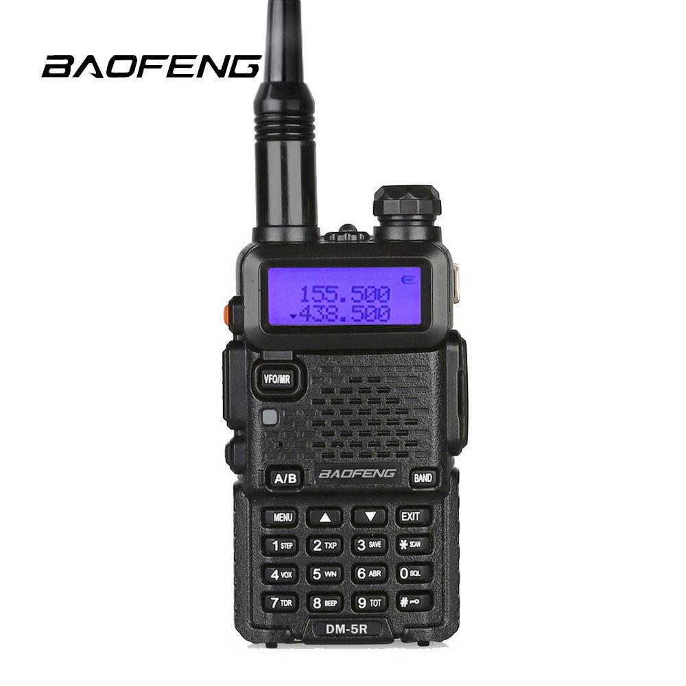Baofeng DM-5R Digital DMR Radio VHF&UHF Dual Band Walkie Talkie Two Way Radio Portable radios