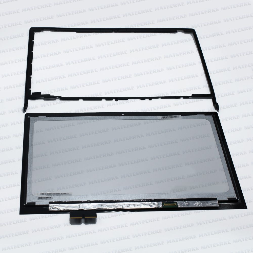 (With Frame) LCD Touch Screen Digitizer Assembly Display For Lenovo FLEX2 Pro-15 Flex2 pro 15, 1080p