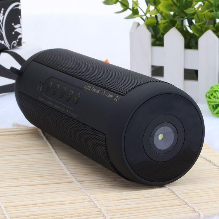 Original T2 Bluetooth haut-parleur étanche Portable extérieur sans fil Mini colonne boîte haut-parleur Support TF carte FM stéréo Hi-Fi boîtes
