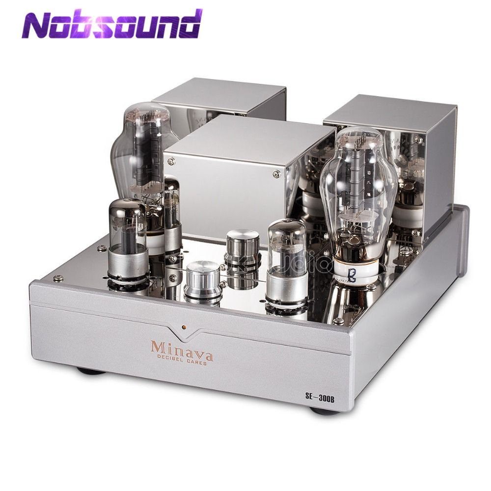 Nobsound Hi-end 300B Single-ended Stereo Integrated Vacuum Tube Amplifier Class A HiFi Audio High Power Valve Amplifier