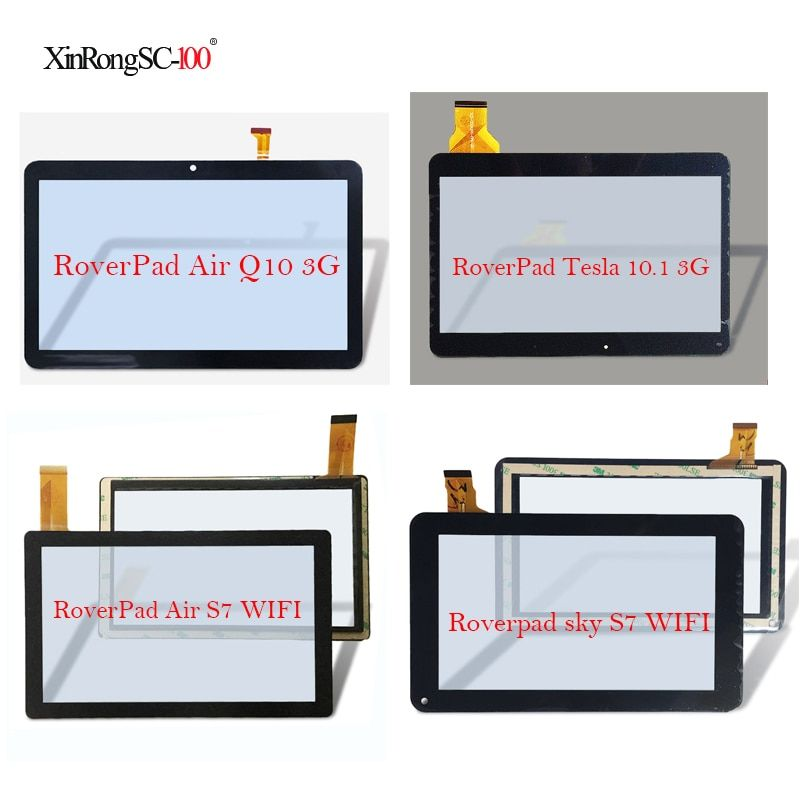 For RoverPad Tesla 10.1 3G/Air Q10 A1030/Sky Q8 8Gb/Air S7 WIFI/Sky S7 WIFI/Play S7/Air S8 Tablet touch screen panel Digitizer