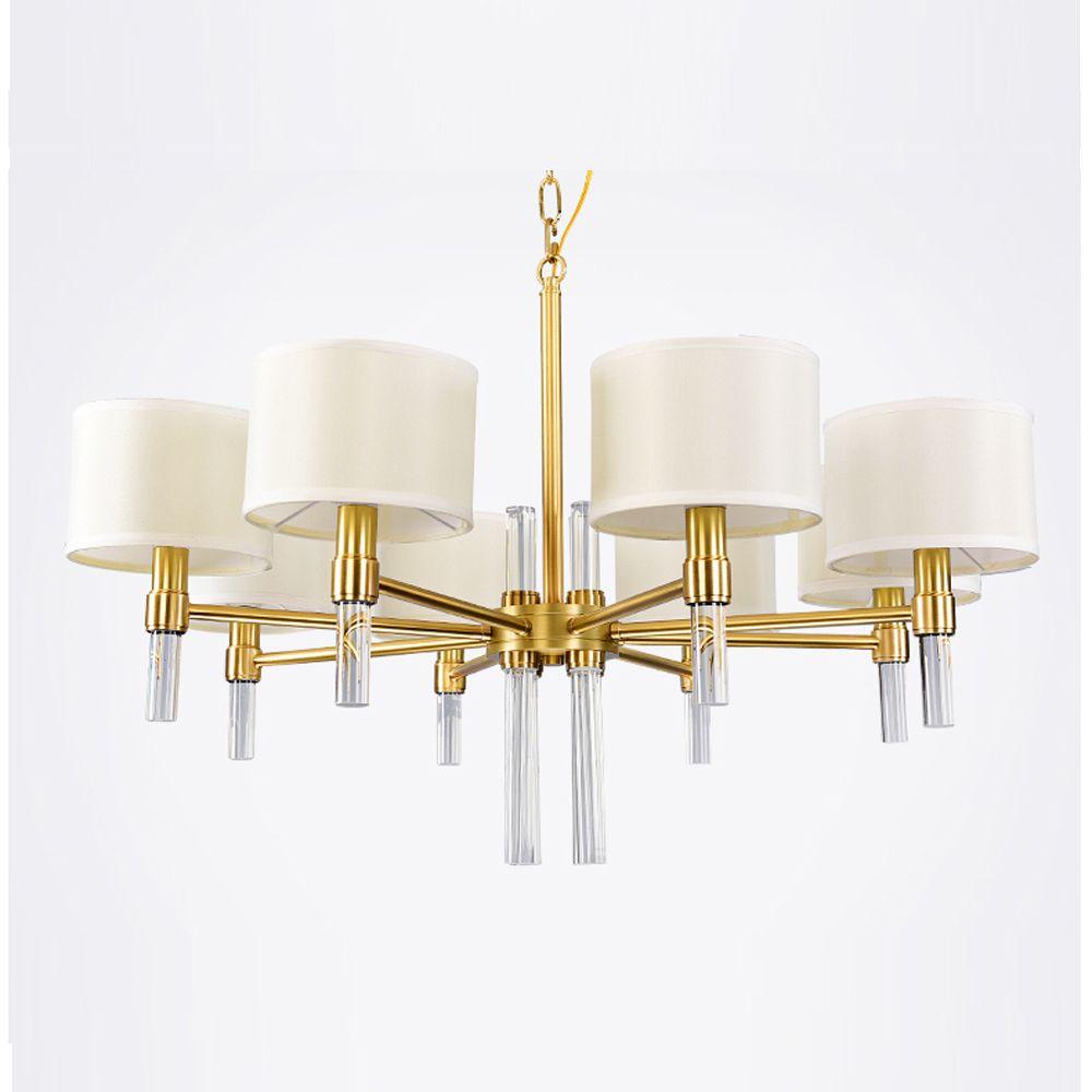Zeitgenössische kronleuchter beleuchtung gold LED licht für esszimmer wohnzimmer