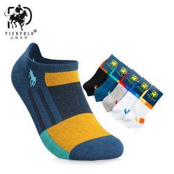 New PIERPOLO men's cotton socks thin men's socks breathable cotton socks manufacturers wholesale
