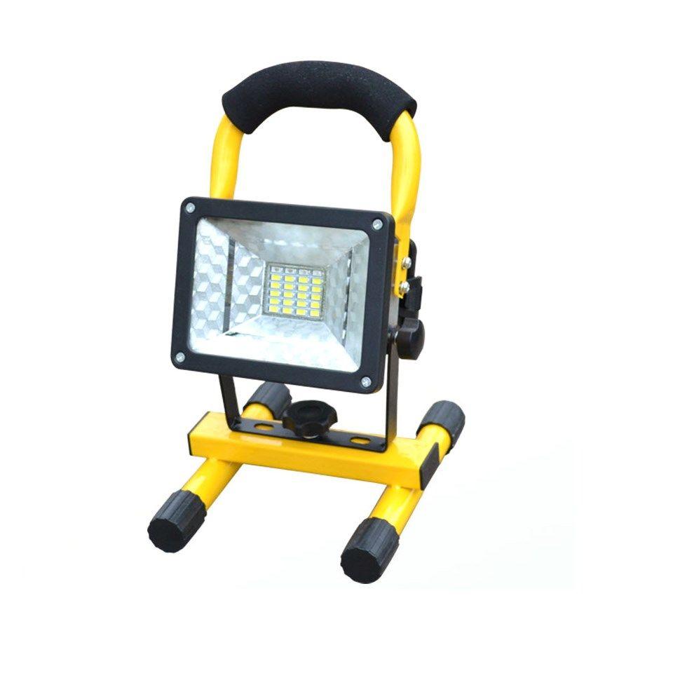 Projecteur LED rechargeable 5730 projecteur Portable mobile camping extérieur lumière prairie non inclus 3*18650 batteries