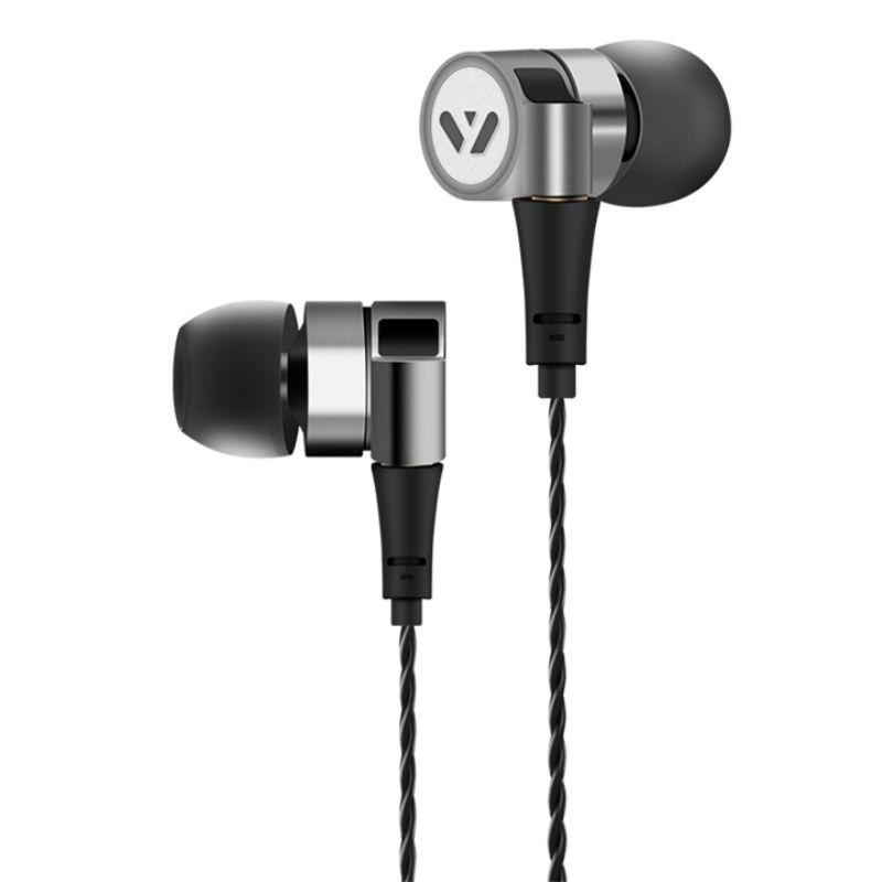 Yersen Hybrid Earphone HIFI Stereo Bass Metal Headset MMCX Detachable Cable Tune Audio Headphone DJ Monitor Earbuds Ecouteurs