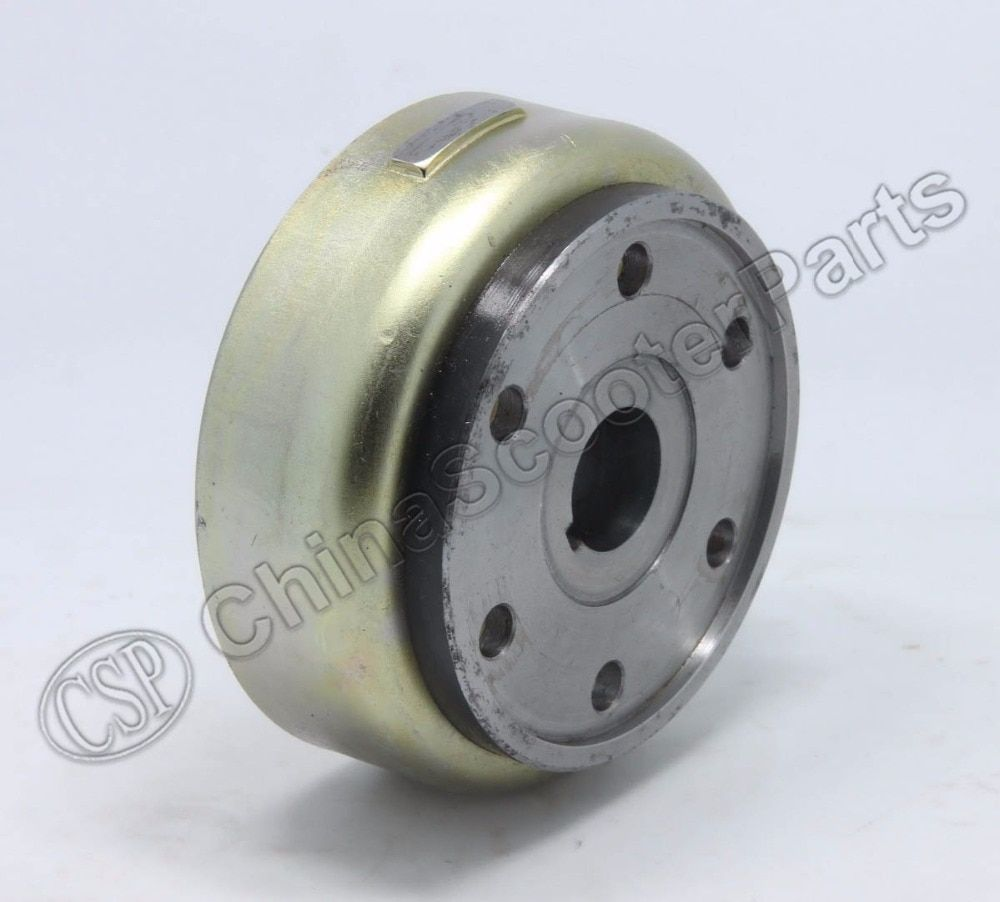LINHAI Buyang MAJESTY YP250 250 260 300 ATV QUAD FLYWHEEL ROTOR ASSY MAGNETO COIL COVER 95mm