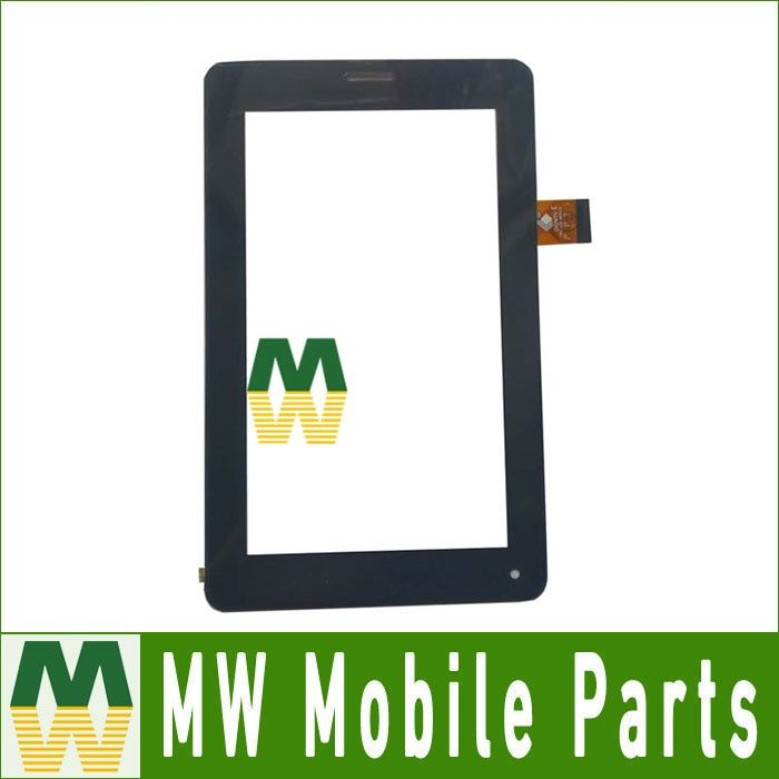1PC/ Lot Black Color High quality For Megafon Login 2 Login2 MT3A 7.0inch Touch Screen Digitizer Replacement Part