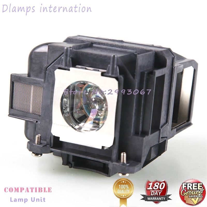 EX3220 EX5220 EX5230 EB-945 EB-955W EB-965 EB-98 EB-S17 EB-S18 EB-SXW03 Projector Lamp V13H010L78 ELP78 For EPSON Projectors